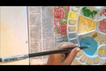 Bible journalling videos tutorials