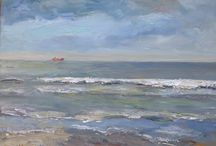 seascapes / Paintings by Heleen van Lynden. Most of them.
