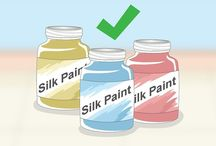 técnicas para pintura seda