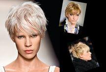 Frisuren und Mode