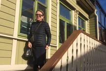På besøk i Levangers vakre trehusbebyggelse