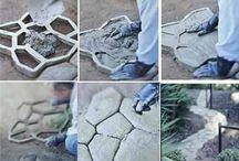 blocos de concreto molde