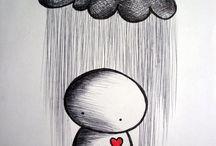 Emotional drawings