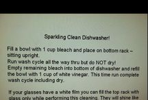 Cleaning tips / by Christine Bridges