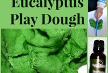 play dough and stuff