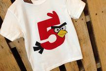 Angry Birds feestje