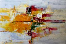 Mo Tuncay / Mo Tuncay is an abstract artist from the Netherlands whose artwork has been purchased all over the world.