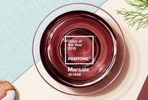 Pantone Color of the Year 2015: Marsala / Before you react to Marsala, Pantone's 2015 Color of the Year, see it in action! We have selected some of our favorite ways to introduce this eye-catching earthy hue into your home décor. Read More: http://www.designconnectioninc.com/pantones-color-of-the-year-2015-marsala/