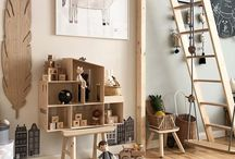 Scandi Cool Playroom Ideas / We've found some fun playroom ideas for your children to enjoy whilst still looking stylish and modern.  We will give you ideas to create cool place for your kids to hang out in.