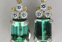 Tourmaline Jewelry / by Peter Suchy Jewelers