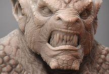 Скульптинг существ