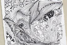Zentangle related items / Zentangle