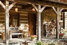 Rustic homes and interiors