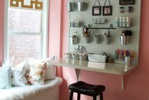 Craft Room Storage and Decorating Ideas / From Craft ROOMS - to - Craft CLOSETS and Every Storage Idea & Solution In Between.