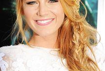 Blonde copper hair