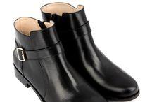 boots noir plat