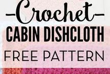 Hooking--dish clothes