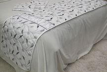Coverlet and Cushion Sets / These are our coverlet and cushion sets in Velvet and Taffetta