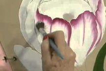 arte al oleo amapolas