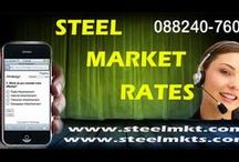 Today Steel Prices / Know Today's Iron and Steel Prices in India.