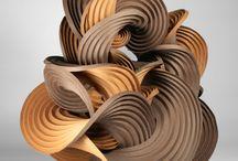 Curved crease sculptures / Curved crease sculptures