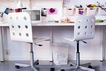 arbetsrum / Inspiration till mitt arbetsrum!