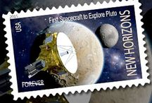 Space Age Postal Stamps