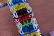 Rubberband bracelets / by Debra Nelson