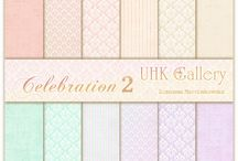 UHK Gallery 2015 - CELEBRATION2 scrapbooking paper collections