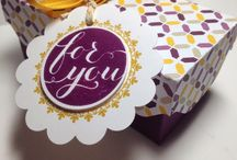 Stampin' Up! - 3-D Projects