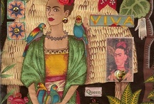Frida File / Frida and art celebrating her iconic image.