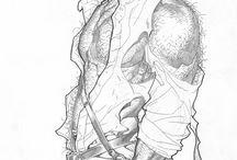 Drawings by Adam Hughes