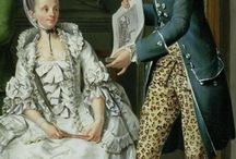 18thC Portraits with Men and Woman