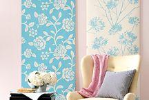 Wallpaper scraps