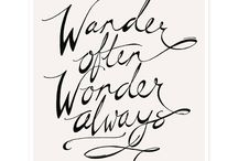 Travel Quotes / Wanderlust inspiration