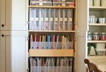organizing - paper crafts / by Melanie Fagerberg