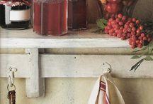 Marmellata e frutti rossi