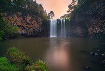 watetfalls & rainforests