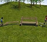 Children Timber Trim Trails