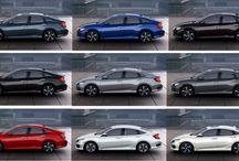 New, 2016 Honda Civic Sedan / The latest on the brand new, fully redesigned 2016 Honda Civic sedan.