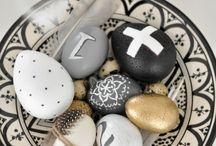 Easter  / Pasen; decoratie, hapjes