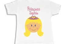 Lil Ballerinas & Princesses / Personalized gifts good enough for royalty. We have jewelry boxes, shirts, rocking chairs, and wall decor for your little princess and ballerina. / by My Bambino