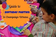 Birthday Celebrations in Chambana / Celebrating a birthday in Champaign-Urbana and beyond and looking for party places, reviews, and hints?  No worries!  We've got you covered!