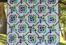 two blocks quilt