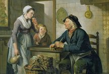 КУХНЯ, РЫНОК  В ЖИВОПИСИ / Картины, касающиеся всего, что имеет отношение к приготовлению пищи: кухни, рынки, торговля едой и т.п.
