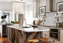 Kitchens - Islands / This board will help you with the decision of which island you want to put in your kitchen.