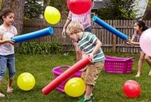 Игры для детей на улице / Подвижные игры для хорошей погоды