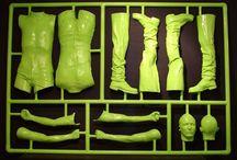 Model Kit Frames