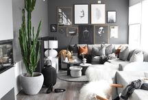 Grey living room idea's