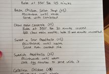Freezer Meals Tips / by Tabitha Corless